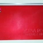 Porta Voucher / porta Documentos em PVC Alklear , Personalizado em Baixo relevo